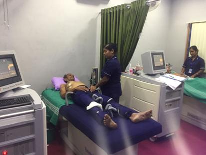 ICl MediLab EECP Treatment