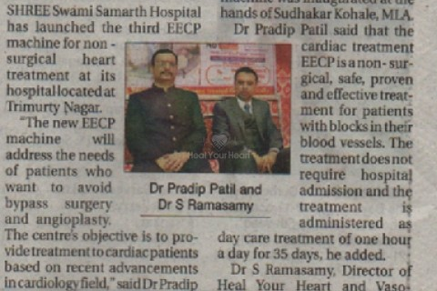 healyourheart signed agreement with shree swami samarth heart care centre nagpur   the hitavada