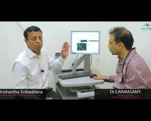 central blood pressure sphygmocor explained in sinhalese